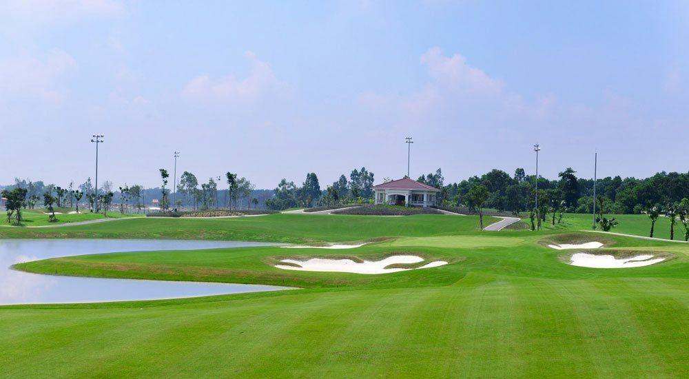 Khu nhà vườn du lịch sinh thái và sân tập golf Vân Tảo có quy mô 66ha. Ảnh minh họa