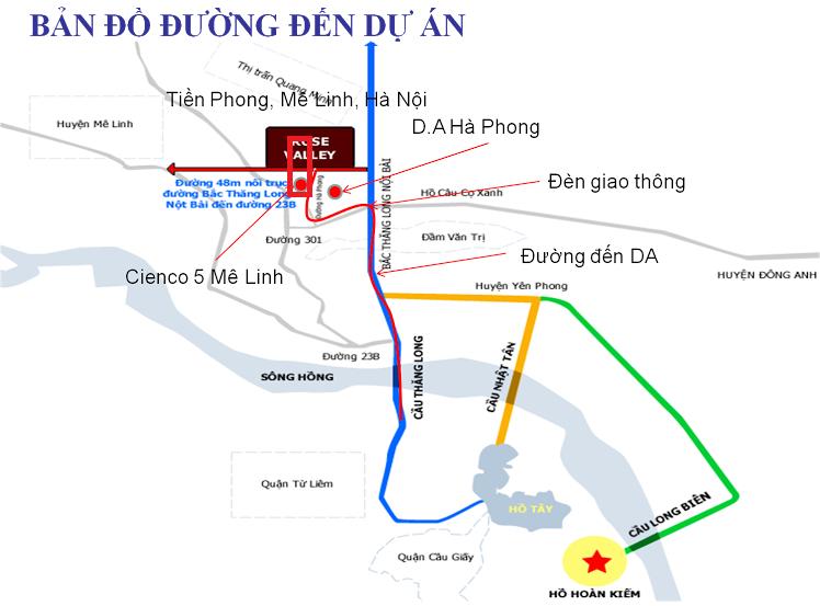 Dự án Khu đô thị Cienco 5 Mê Linh Hà Nội